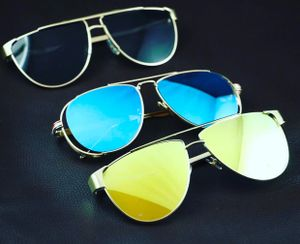 Golden and yellow new stylish sunglasses 3320