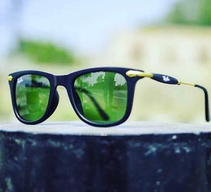 gold and green stylish beautiful sunglasses 0116