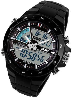 Men's Waterproof Analog + Digital Sports Watch Analog-Digital Watch - For Men
