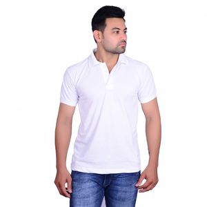 Aragon White Polo T shirt For Men