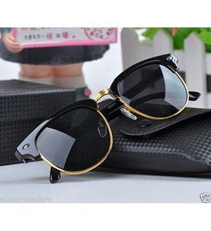 Sunglasses Black Clubmaster Goggles