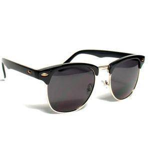 Sunglasses Black Clubmaster Goggles For Unisex