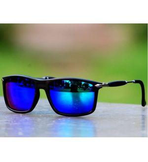 Sunglasses Mercury Blue type Square frame Goggles for Men