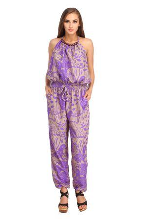 Entease Purple Jumpsuit
