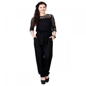 THE DIVA black jumpsuit stylish new look