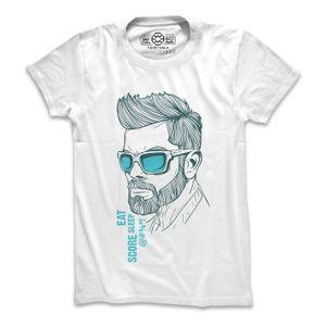 Virat Kohli - white t-shirt