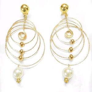 Tangled Hoops Statement Earring