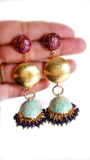 My Love For Jhumkas By PinkvelvetteS