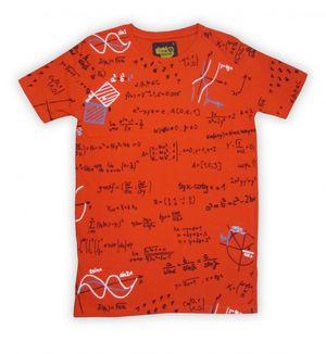 I Am Back Printed Men's Round Neck Orange T-Shirt