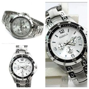 Rosra TM Silver-117 Analog Watch - For Men