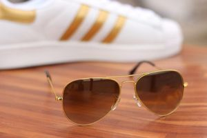 Royal C-043 Golden Brown Shade Aviator Sunglasses