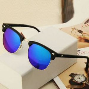 Kraftly Special Royal C-058 Sunglasses new design Clubmaster Blue Mercurey