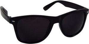 Super Deals Black Glass Wayfarer Sunglasses For Men Women