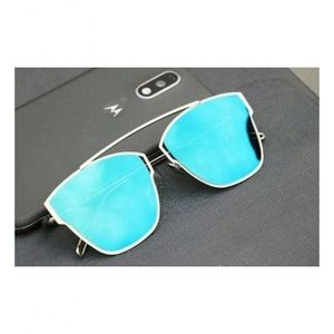 Royal and luxurious look stylish Sunglasses  Aqua Blue Mirror for Men and Women