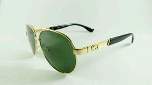 Stylish Golden Sunglasses - For Men
