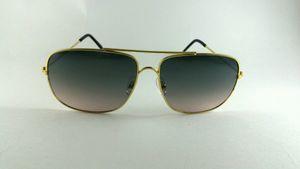 Golden Square Sunglasses