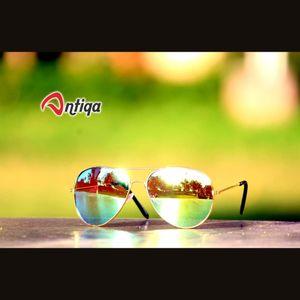 Antiqa Stylish Sunglasses Aviator Green Mercury Goggles (AQ-SG-AV-A-0011)