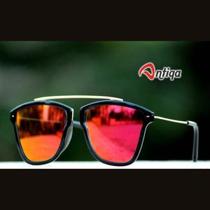 Antiqa Stylish Sunglasses Aviator Red Mercury Goggles (AQ-SG-AV-A-0002)