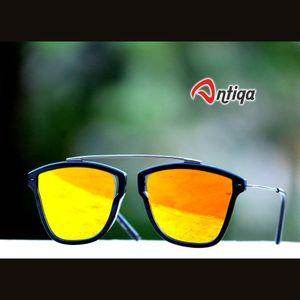 Antiqa Stylish Sunglasses Aviator Yellow Mercury Goggles (AQ-SG-AV-A-0003)