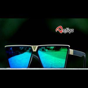 Antiqa Stylish PREMIUM Sunglasses Blue Mercury Goggles (SG-DC-PC-C-0002)
