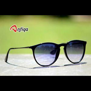 Antiqa Stylish Round Sunglasses White Shade Goggles (AQ-SG-RD-A-0018)