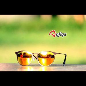 Antiqa Stylish ROUND Sunglasses Yellow  Mercury Goggles (AQ-SG-RD-C-0013)