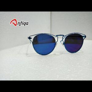 Antiqa Stylish Round Sunglasses Purple Mercury Goggles (AQ-SG-RD-D-0008)