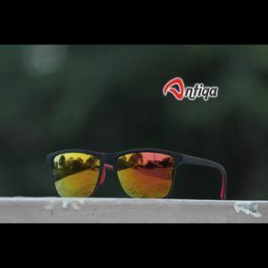 Antiqa Stylish SQUARE Sunglasses Yellow Mercury Goggles (AQ-SG-SQ-A-0003)