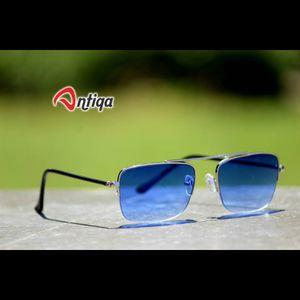 Antiqa Stylish SQUARE Sunglasses Blue Shade Goggles (AQ-SG-SQ-A-0007)