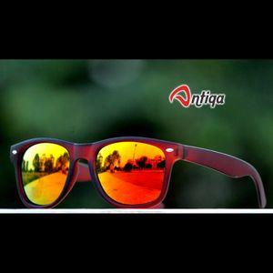 Antiqa Stylish Wayfarer Sunglasses Yellow Mercury Goggles (AQ-SG-WF-A-0002)