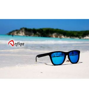 Antiqa Stylish Sunglasses Blue Mercury Beatch Wayfarer Goggles (AQ_SG_1008)