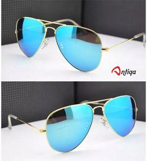 Antiqa Stylish Sunglasses Blue Mercury Aviator Blue Goggles (AQ_SG_1017)