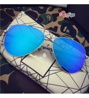 Antiqa Stylish Sunglasses Blue Mercury Aviator Goggles (AQ_SG_1031)
