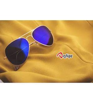 Antiqa Stylish Sunglasses Blue Mercury Aviator Goggles For Unisex (AQ_SG_1037)