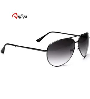 Antiqa Stylish Sunglasses Black Aviator Goggles (AQ_SG_1045)