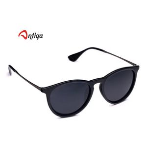 Antiqa Stylish Sunglasses Black Half Round Goggles (AQ_SG_1046)