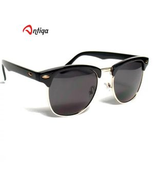 Antiqa Stylish Sunglasses Clubmaster Black Goggles (AQ_SG_1049)