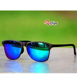 Antiqa Stylish Sunglasses Square Blue Mercury Goggles (AQ_SG_1050)