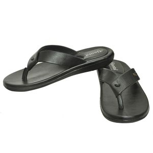 Ajanta Men s Slip On Slippers - Black
