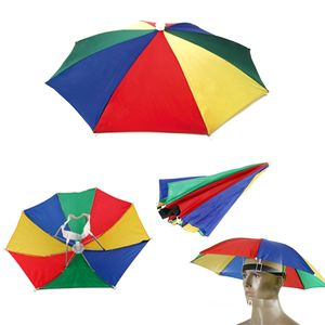 Hands Free Umbrella Hat To Protect From Sun & Rain For School Going Kids And Adults
