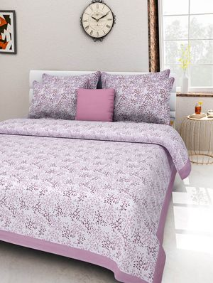 Priyansh Double bedsheets with two pillow cover in printed PR-292