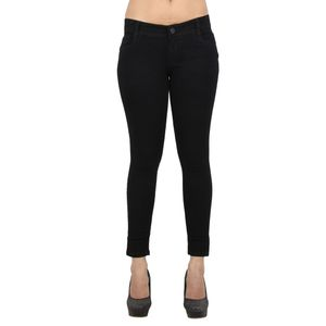 EBONY-nx Black Women Denim Jeans  28