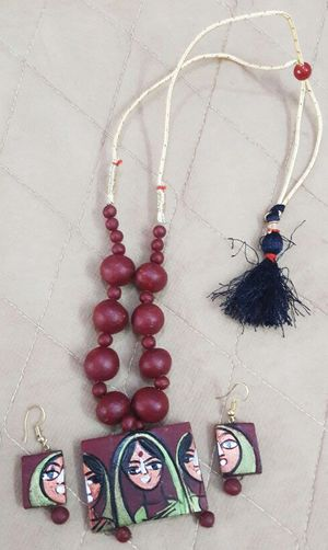 Terracotique's Terracotta  Jewellery