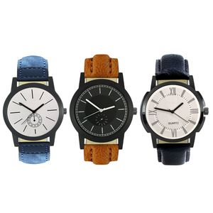 COMBO 3 LEATHER ANALOG FOR MAN