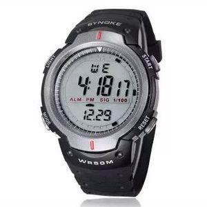NEW WATERPROOF black sport Watch - For Men