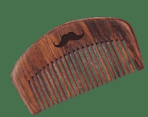 MEN DESERVE Shisham Wooden Beard Comb (Hand Made)