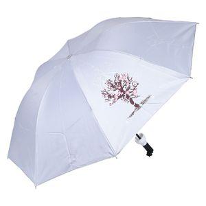 Sultaan Fashionable Wine Bottle White Cover Travel Umbrella