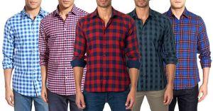 Men Check Shirts (Pack of 5)