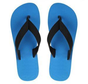 22K Blue Eezay Max Swim EVA Flip Flops Slippers for Men's