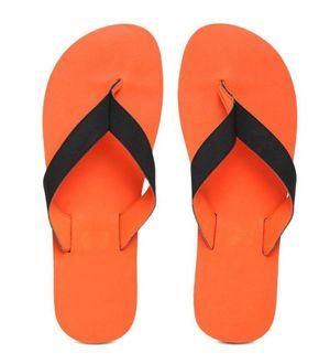 22K Orange Eezay Max Swim EVA Flip Flops Slippers for Men's